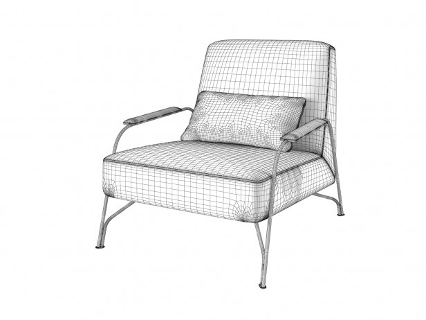 Humphrey Armchair & Footstool 4
