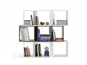 Cuts Bookshelf Composition 3