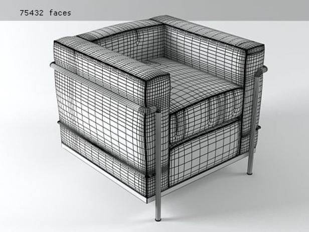 LC2 Armchair 5
