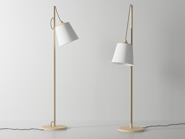 Pull Floor Lamp 3d Model Muuto
