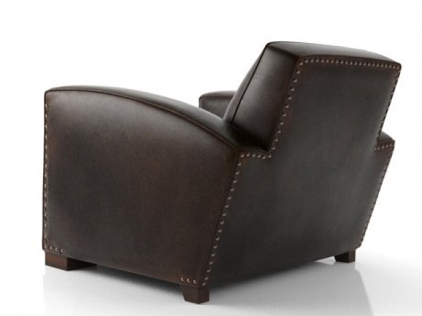 Library Leather Chair 3d Model Restoration Hardware Usa