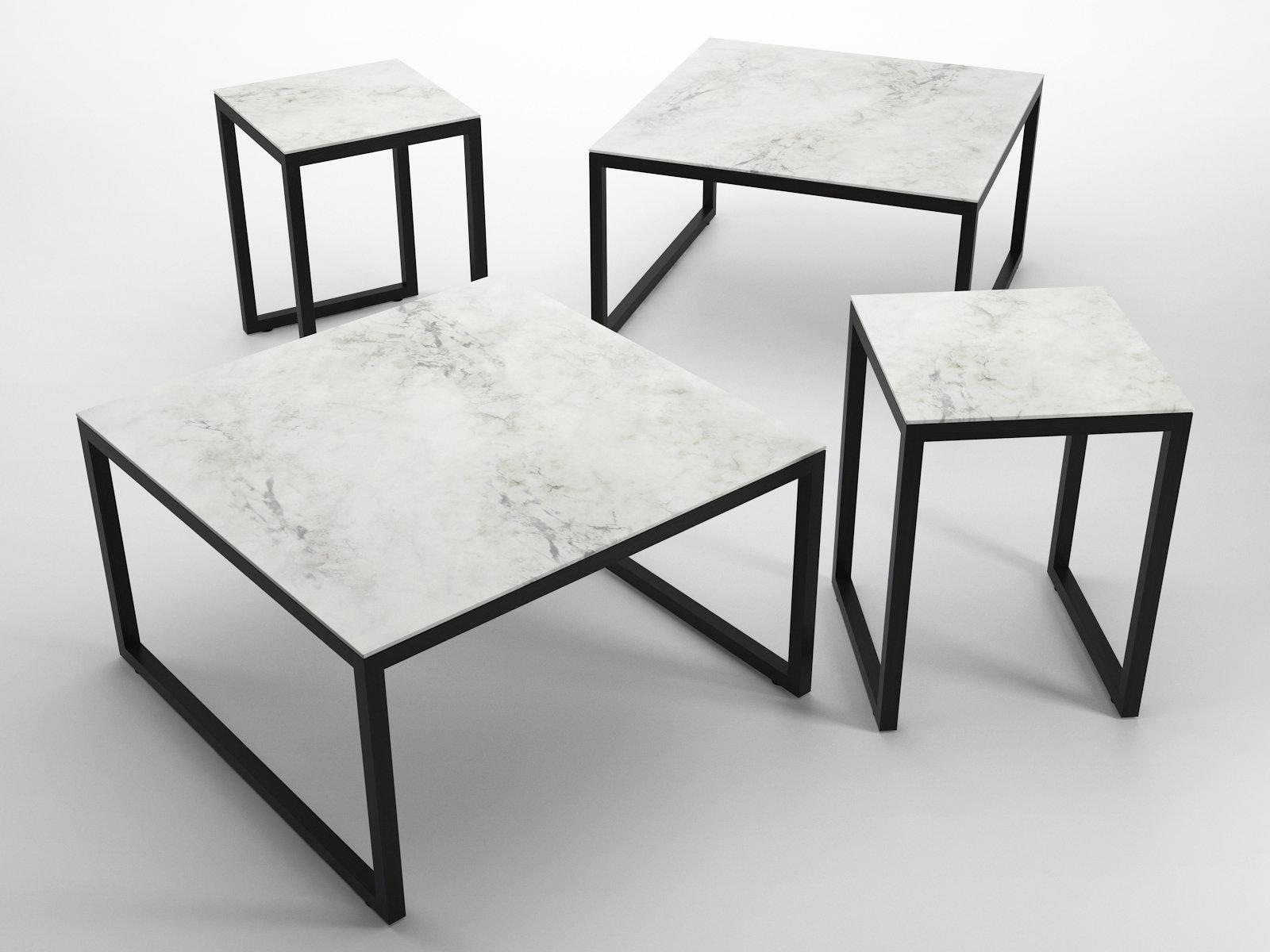 iso tables 3d model ligne roset. Black Bedroom Furniture Sets. Home Design Ideas