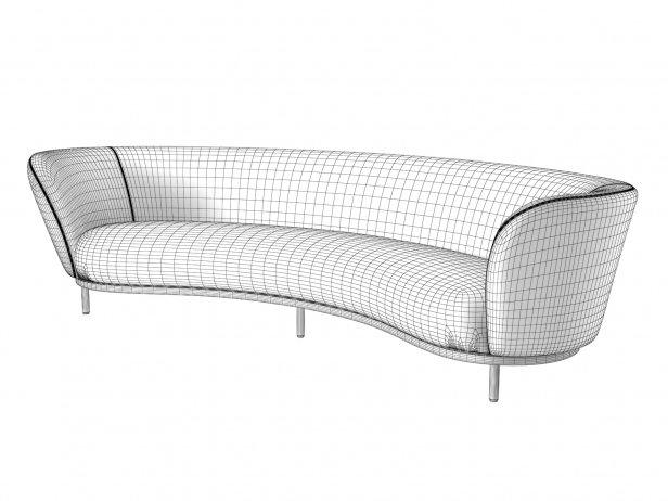 Dandy 4-Seater Sofa 8