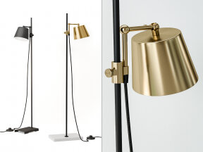 Lab Floor Lamp
