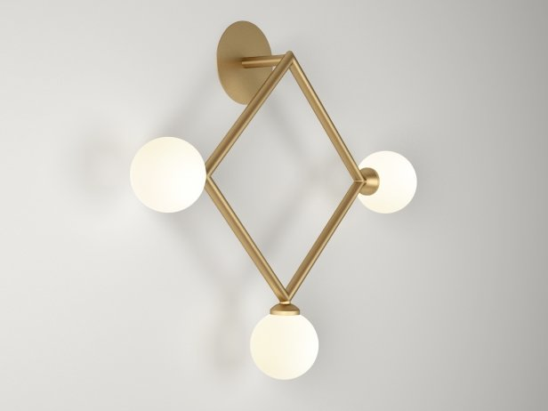 Square Wall Lamps 4