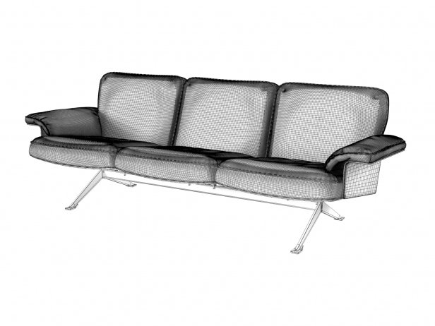 DS-31/103 3-Seater Sofa 3
