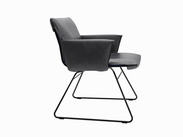 DS-515 Lounge Chair with Armrests 4