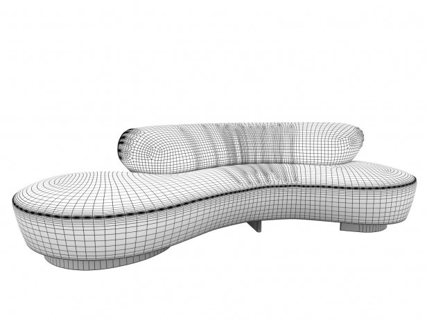 Serpentine Sofa 5