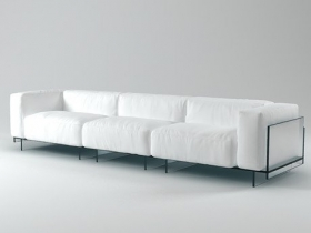 Crystal threeseater sofa