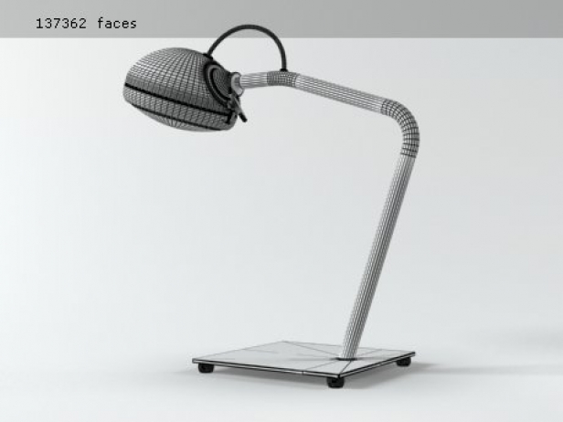 Stand Alone Table lamp 3d model | Jacco Maris