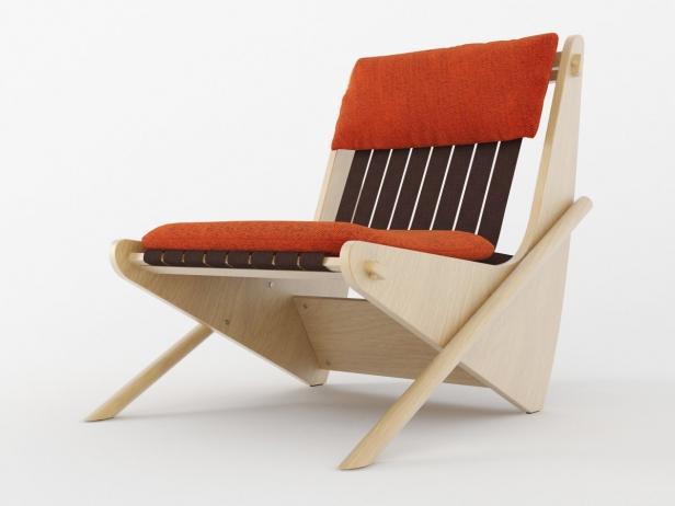 Boomerang chair 3
