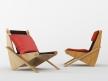 Boomerang chair 1