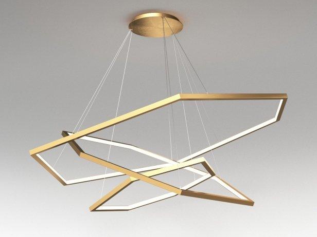 Vesanto Triple Pendant 3d Model Cameron Design House