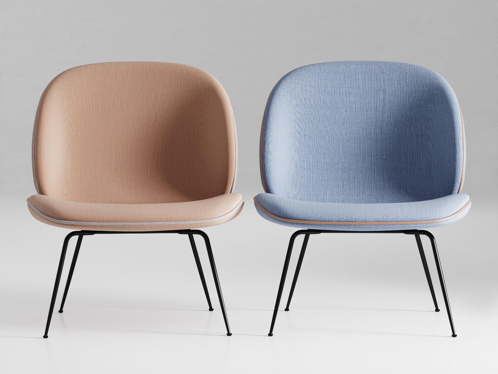 beetle lounge 3d model gubi. Black Bedroom Furniture Sets. Home Design Ideas