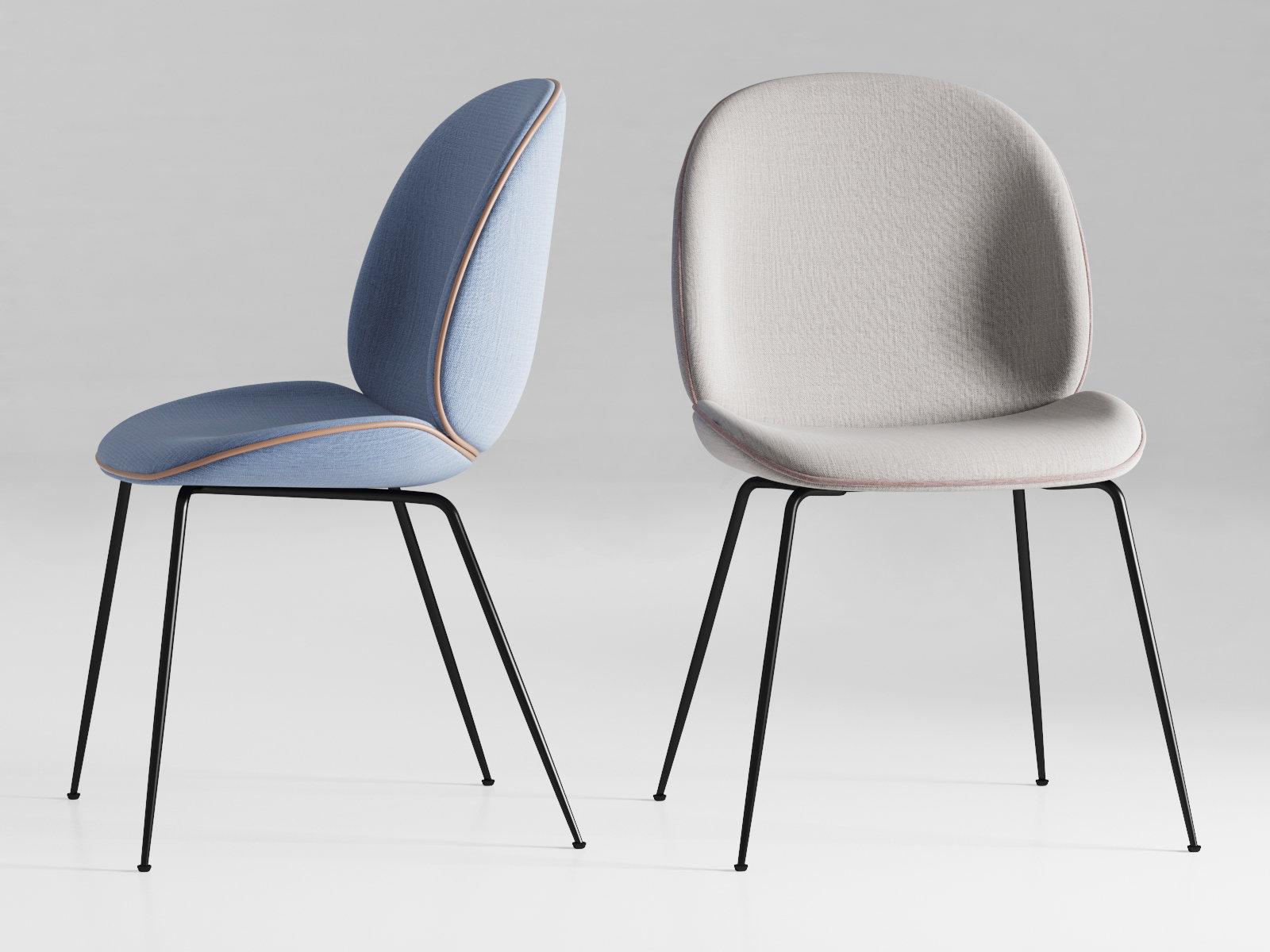 beetle chair 3d model gubi. Black Bedroom Furniture Sets. Home Design Ideas