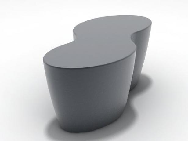 Palette Table Stool 3d Model Ligne Roset France