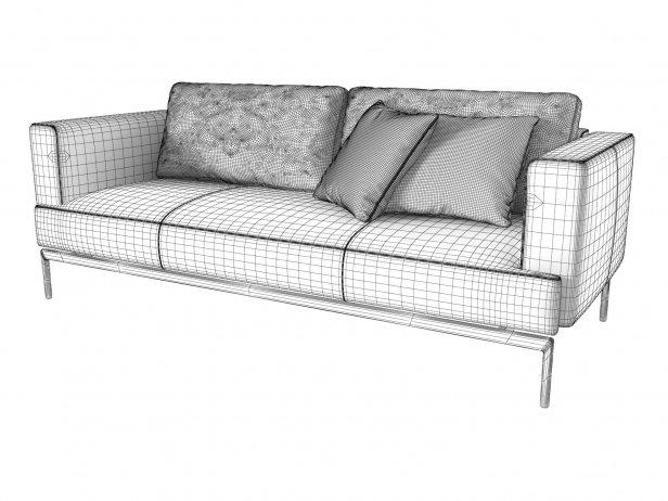 Easy 3-Seater Sofa 9