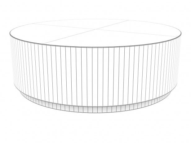 Machinto Round Coffee Table 7