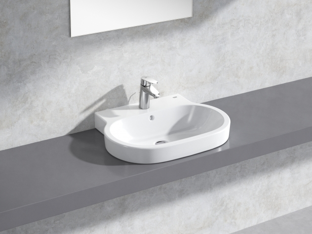 Eurocosmo Countertop Basin 60 Set 1