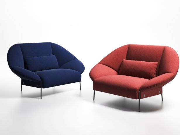 Paipai Love Seat 3d Model Ligne Roset France