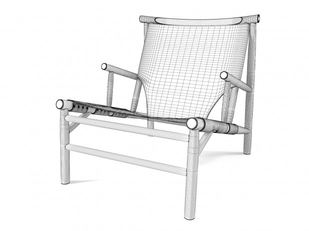 Samurai Lounge Chair 7