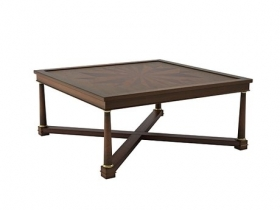 Square Marquetry Table 8552