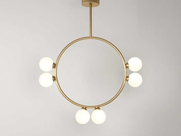 Circle 2 Globe Pendant Lamp 1