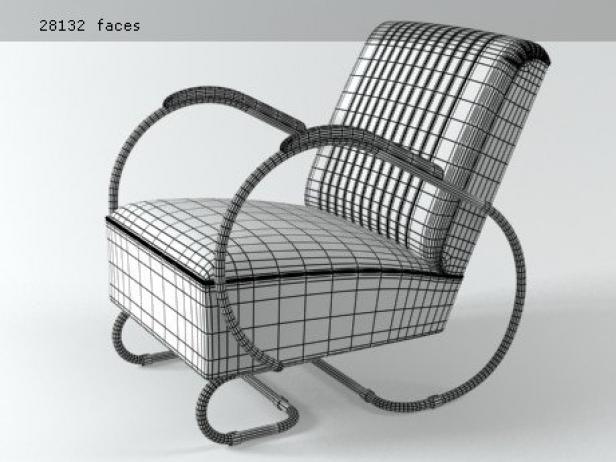 Tube armchair 5