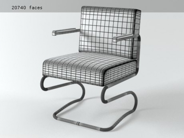 Jindrich Halabala Chair 7