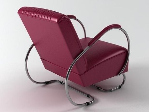 Tube armchair 3