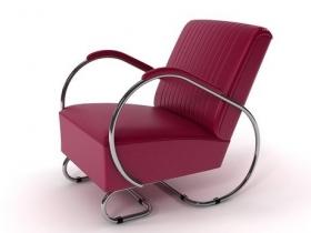 Tube armchair