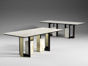 Moore 200 and 220 Rectangle Dining Tables