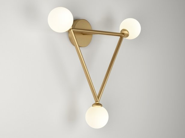 Triangle Wall Lamps 2