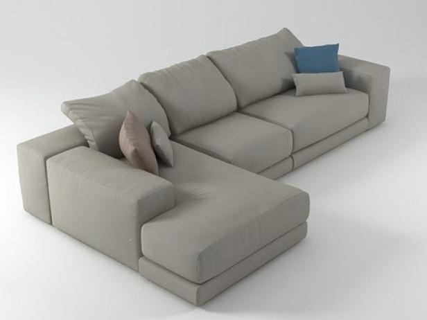 hills sofa 6 3d modell swan. Black Bedroom Furniture Sets. Home Design Ideas