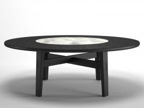 Home Hotel Circular Dining Table
