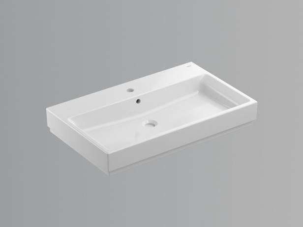 Cube Countertop Basin 80 Set 5
