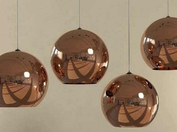 Copper Shade Pendant 6
