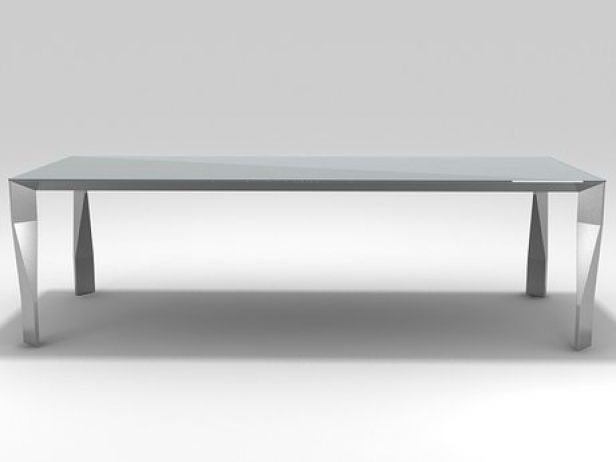 Diamond table 3d model molteni c for Table induction 71 x 52