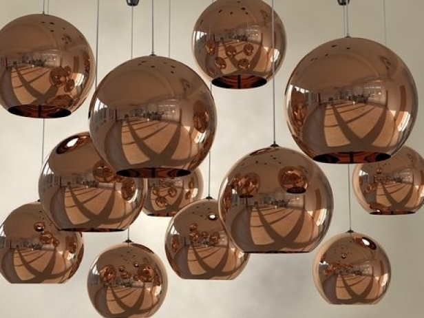 copper shade pendant 3d model tom dixon. Black Bedroom Furniture Sets. Home Design Ideas