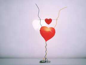 One From The Heart Table Lamp