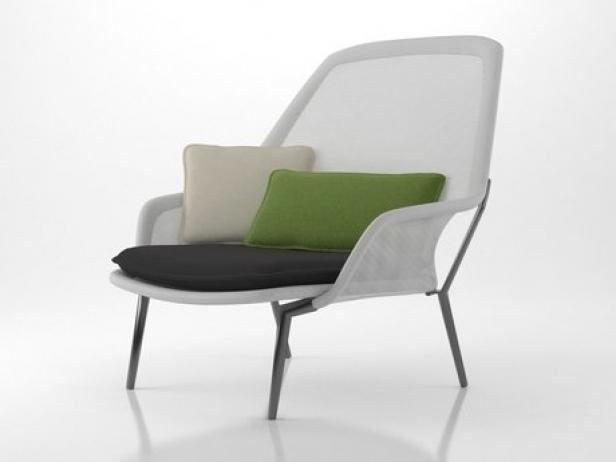 Slow Chair 3d Model Vitra