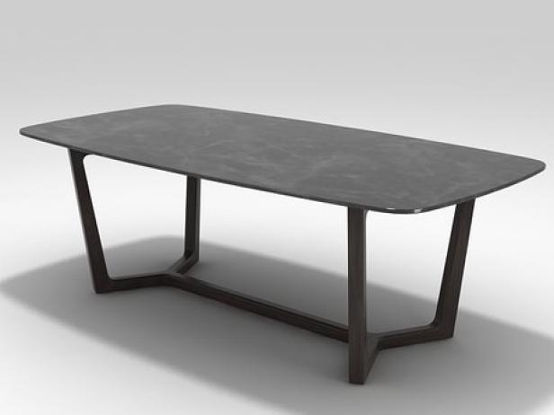 Concorde Table Mod 232 Le 3d Poliform