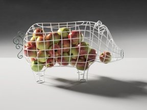 Fantastico Domestico Pig Basket