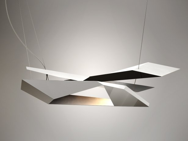 Polygon Crash Pendant Light 2
