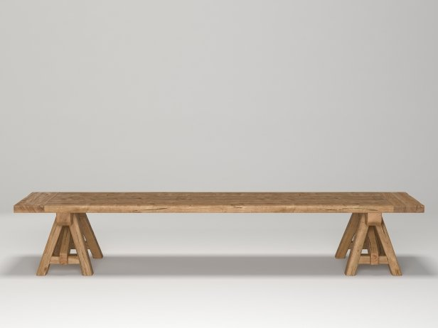 Benson Sawhorse Coffee Table 9
