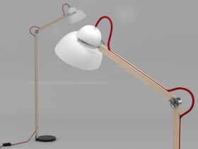 Studioilse floor lamp