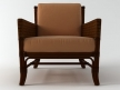 Rawhide Weave Lounge Chair 4