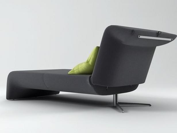 downtown chaise longue 3d model ligne roset. Black Bedroom Furniture Sets. Home Design Ideas