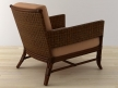 Rawhide Weave Lounge Chair 3
