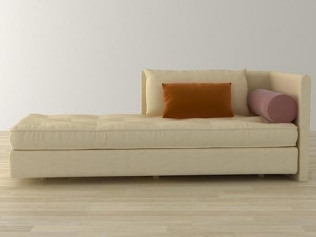 nomade large chaise 3d model ligne roset. Black Bedroom Furniture Sets. Home Design Ideas
